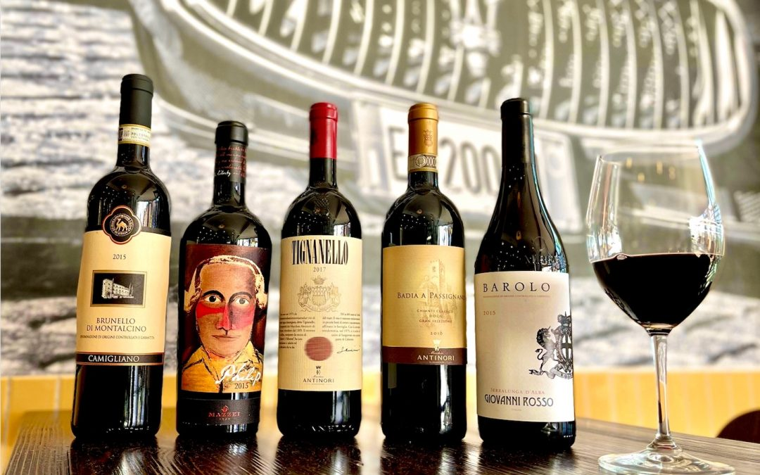 Landini's Restaurant Group to Offer Curated Selection of Wines by the Glass and Half-Priced Bottles for National Wine Day